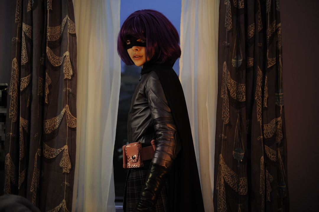 Kick-Ass : Photo Chloë Grace Moretz, Matthew Vaughn