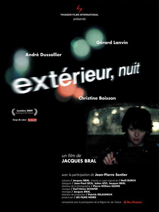 Affiche du film ext rieur nuit affiche 1 sur 2 allocin for Exterieur nuit jacques bral