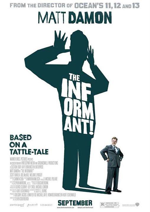 The Informant ! : affiche Matt Damon, Steven Soderbergh