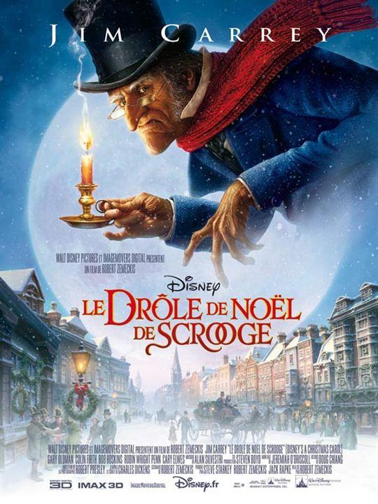 Le Drôle de Noël de Scrooge : Affiche Robert Zemeckis