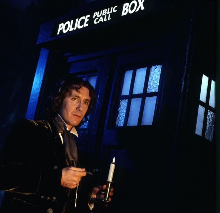 Doctor Who : Photo Paul McGann