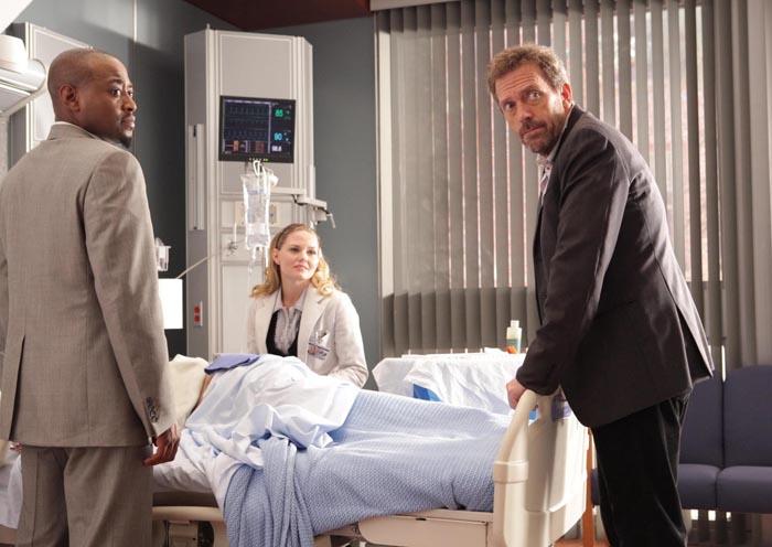 Dr House : Photo Hugh Laurie, Jennifer Morrison, Omar Epps