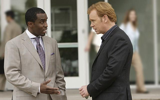 Les Experts : Miami : Photo David Caruso, Sean Combs