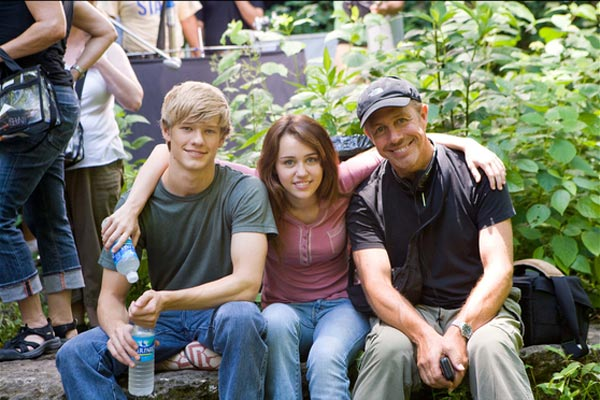 Hannah Montana, le film : Photo Lucas Till, Miley Cyrus, Peter Chelsom