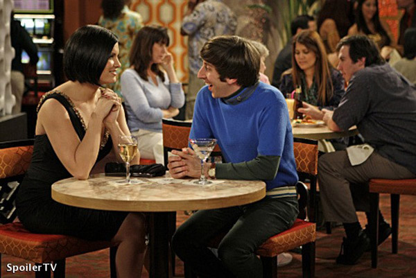 The Big Bang Theory : Photo Jodi Lyn O'Keefe, Simon Helberg