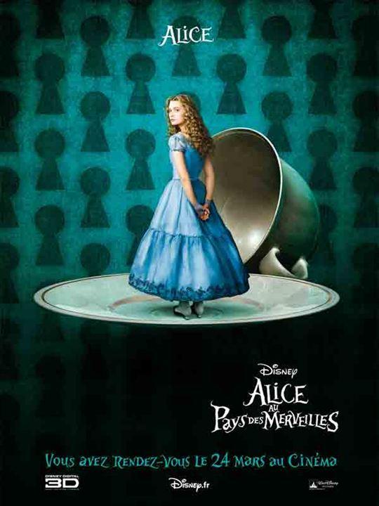 Affiche du film alice au pays des merveilles affiche 7 sur 14 allocin - Service a the alice au pays des merveilles ...