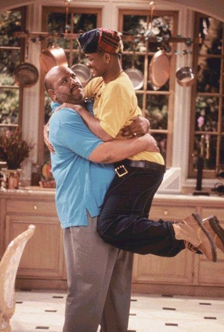 Le Prince de Bel-Air : Photo James Avery, Will Smith