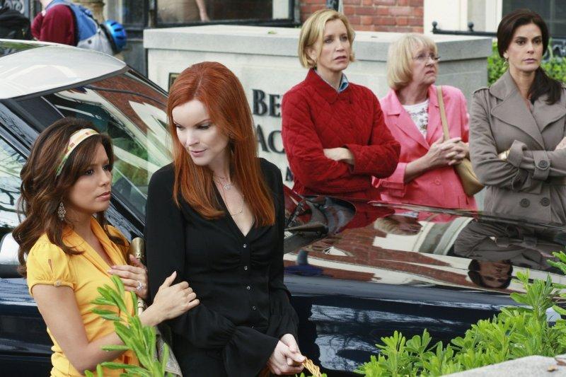 Desperate Housewives : Photo Eva Longoria, Felicity Huffman, Kathryn Joosten, Marcia Cross, Teri Hatcher