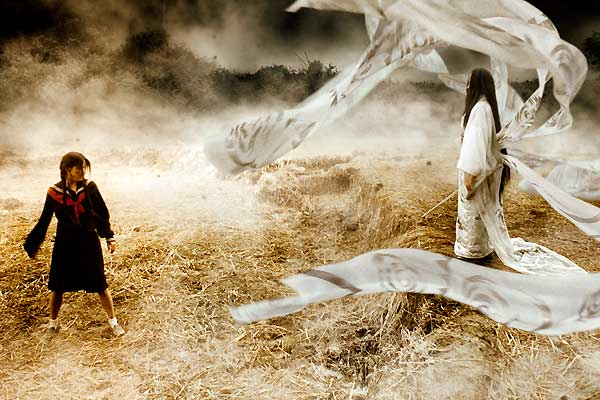 Blood: The Last Vampire : Photo Chris Nahon, Gianna Jun, Katô Koyuki