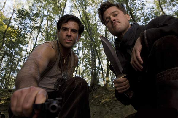 Inglourious Basterds : Photo Brad Pitt, Eli Roth