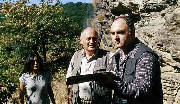 Le Roi de l'évasion : Photo Alain Guiraudie, Hafsia Herzi, Luc Palun