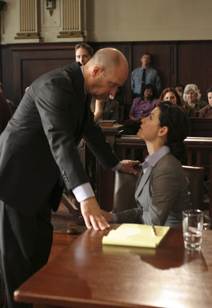 La Loi de Canterbury : Photo Julianna Margulies, Terry Kinney