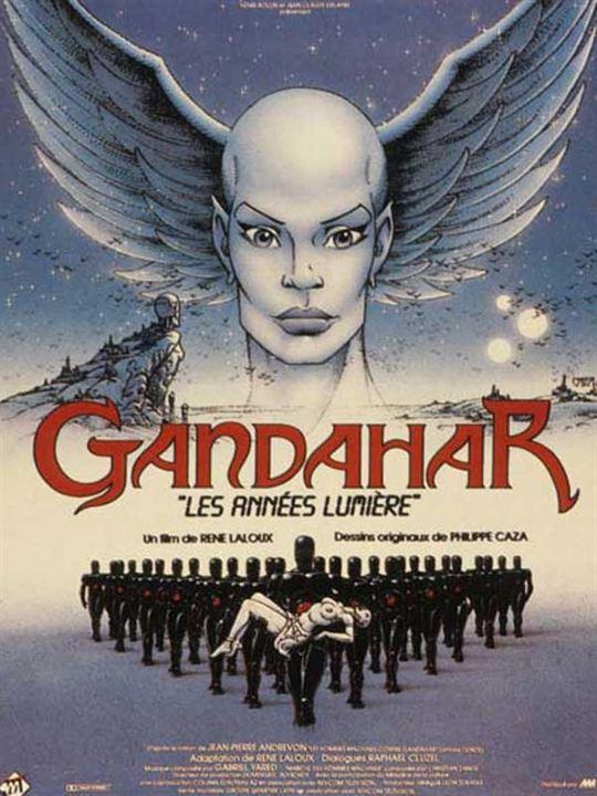 Gandahar : affiche René Laloux