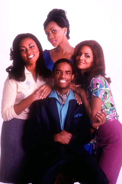 Why Do Fools Fall in Love ? : Photo Gregory Nava, Halle Berry, Larenz Tate, Lela Rochon, Vivica A. Fox