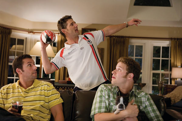Funny People : Photo Adam Sandler, Eric Bana, Seth Rogen