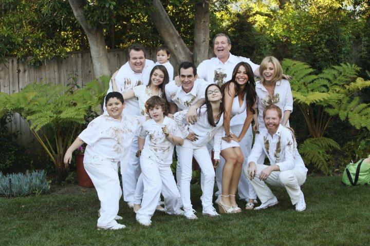 Modern Family : Photo Ariel Winter, Ed O'Neill, Eric Stonestreet, Jesse Tyler Ferguson, Julie Bowen