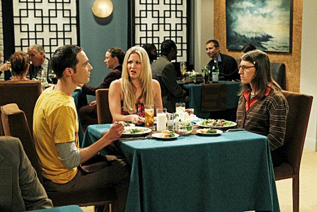 The Big Bang Theory : Photo Jim Parsons, Kaley Cuoco, Mayim Bialik