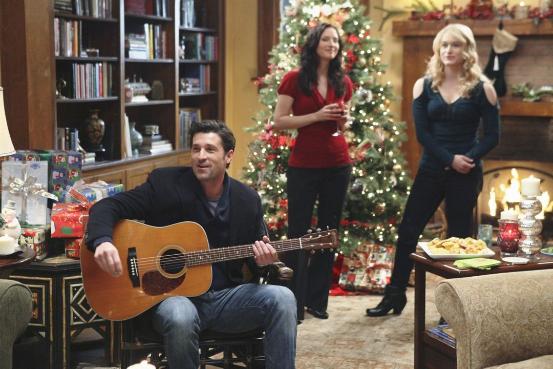 Grey's Anatomy : Photo Chyler Leigh, Leven Rambin, Patrick Dempsey