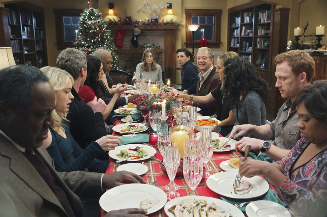 Grey's Anatomy : Photo Chandra Wilson, Chyler Leigh, Ellen Pompeo, Eric Dane, James Pickens Jr.
