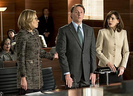 Photo Chris Kipiniak, Christine Baranski, Julianna Margulies