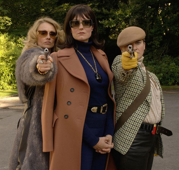 Les Flingueuses : Photo Anna Chancellor, Emma Kennedy, Rachael Blake