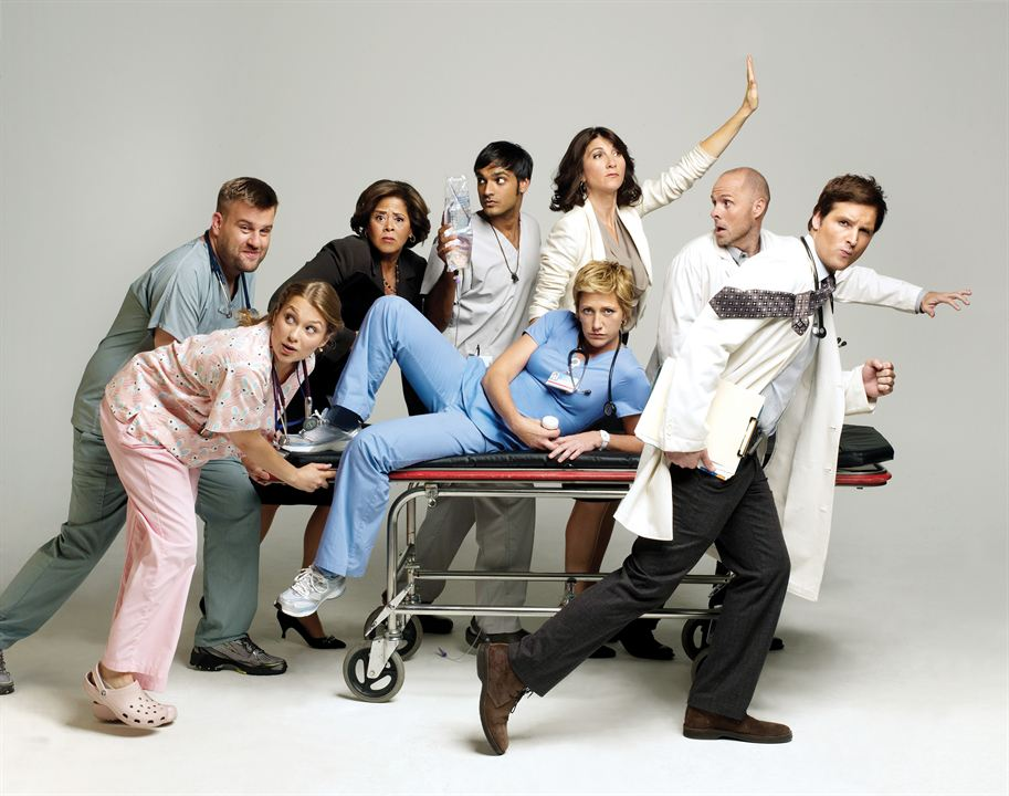 Nurse Jackie : Photo Anna Deavere Smith, Dominic Fumusa, Eve Best, Merritt Wever, Paul Schulze