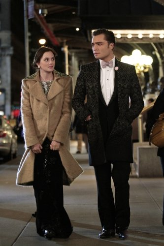 Photo Ed Westwick, Leighton Meester