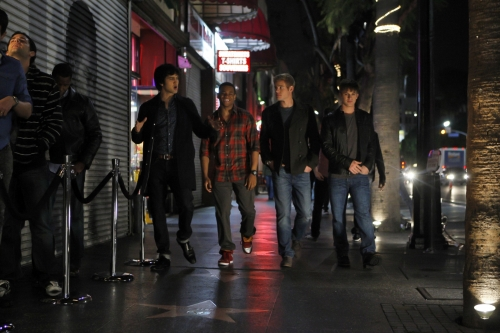 90210 Beverly Hills Nouvelle Génération : Photo Matt Lanter, Michael Steger, Trevor Donovan, Tristan Wilds