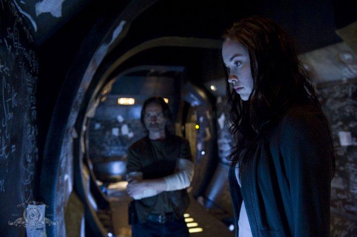 Stargate Universe : Photo Elyse Levesque, Robert Carlyle