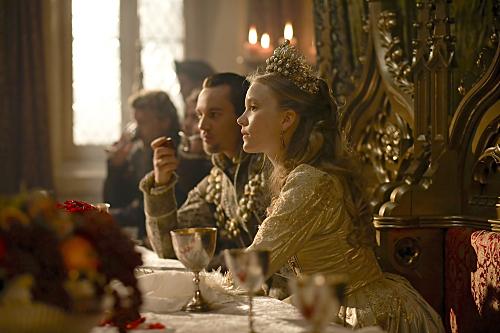 Les Tudors : Photo Jonathan Rhys-Meyers, Tamzin Merchant