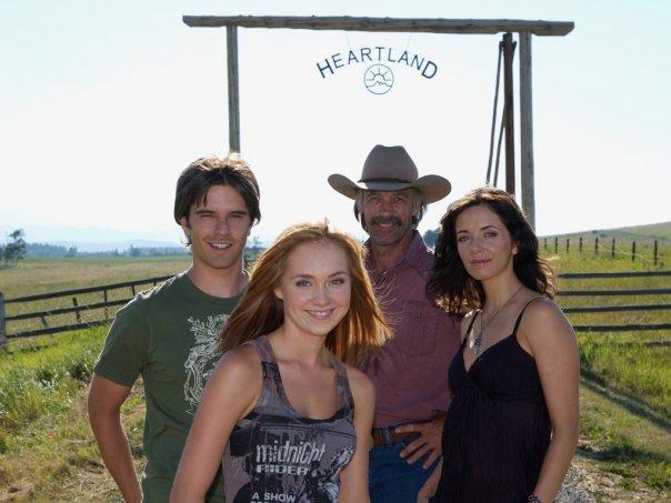 Heartland (CA) : Photo Amber Marshall, Graham Wardle, Michelle Morgan, Shaun Johnston