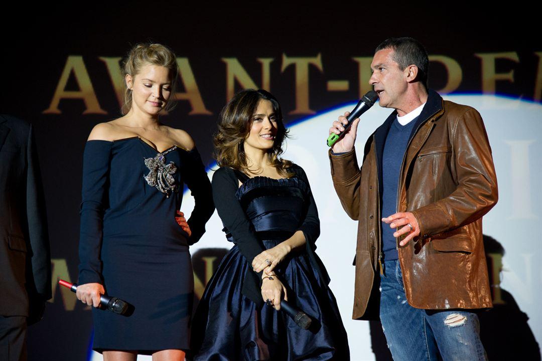 Le Chat Potté : Photo Antonio Banderas, Salma Hayek, Virginie Efira
