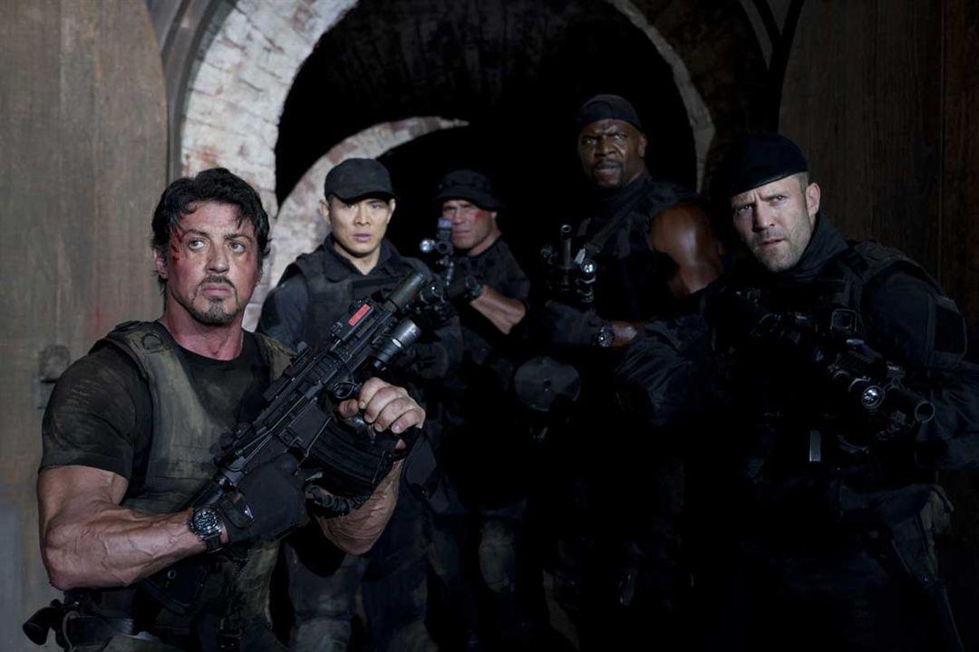 Expendables : unité spéciale : Photo Jason Statham, Jet Li, Randy Couture, Sylvester Stallone, Terry Crews