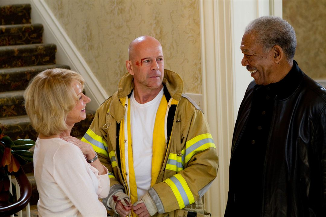 Red : Photo Bruce Willis, Helen Mirren, Morgan Freeman