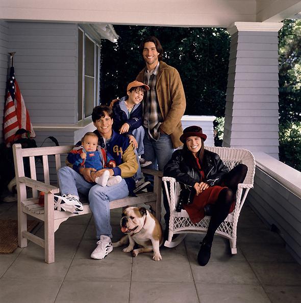 La Vie à cinq : Photo Brandon & Taylor Porter, Lacey Chabert, Matthew Fox, Neve Campbell, Scott Wolf