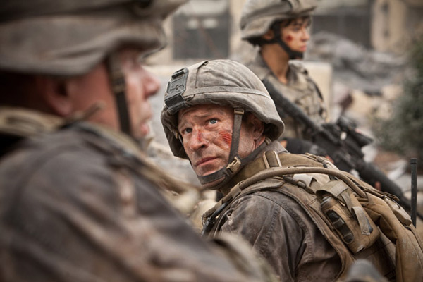 World Invasion : Battle Los Angeles : Photo Aaron Eckhart