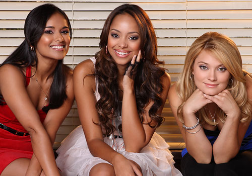 Greek : Photo Amber Stevens, Dilshad Vadsaria, Spencer Grammer