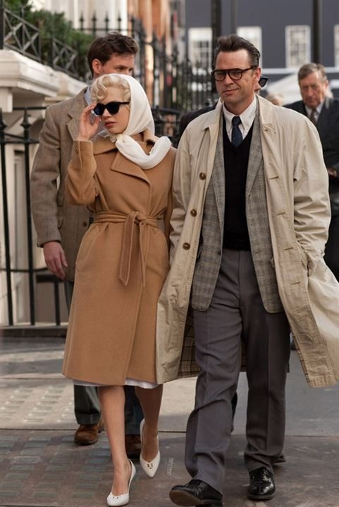 My Week with Marilyn : Photo Dougray Scott, Michelle Williams, Simon Curtis