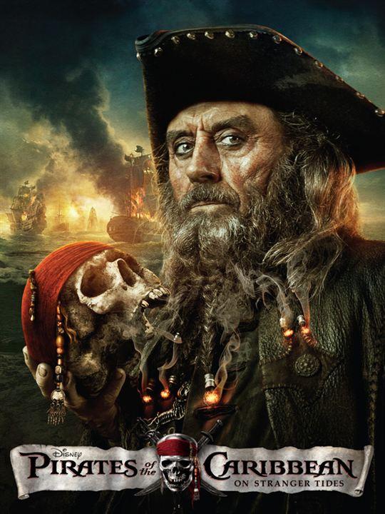 Pirates des Caraïbes : la Fontaine de Jouvence : Affiche