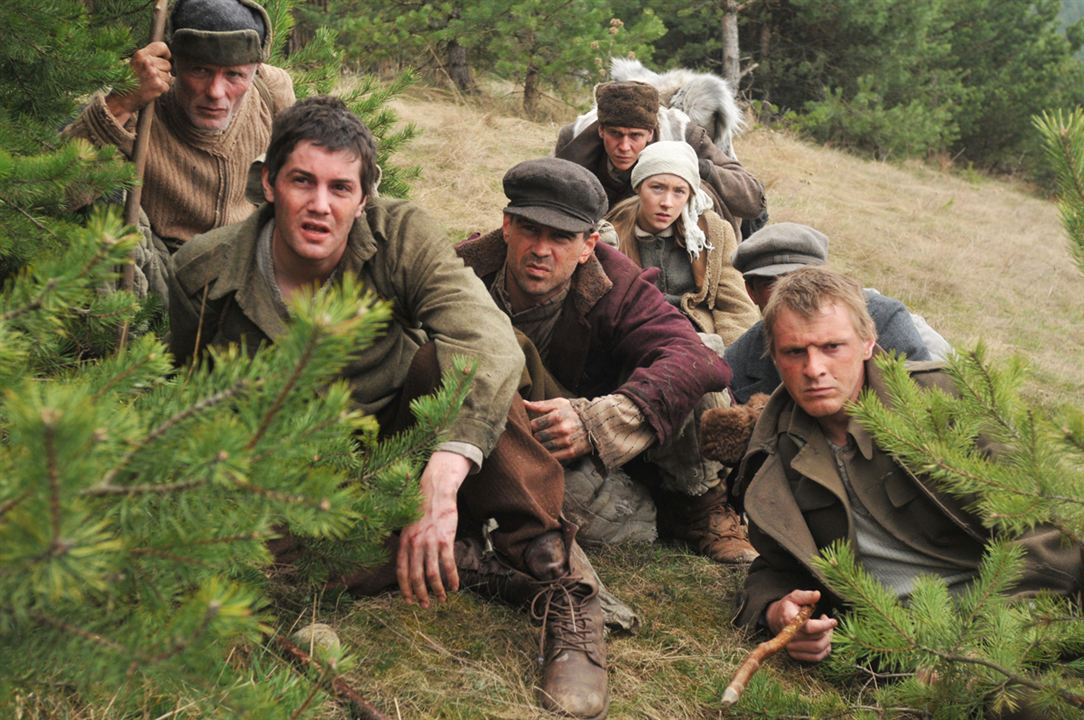 Les Chemins de la liberté : Photo Colin Farrell, Ed Harris, Jim Sturgess