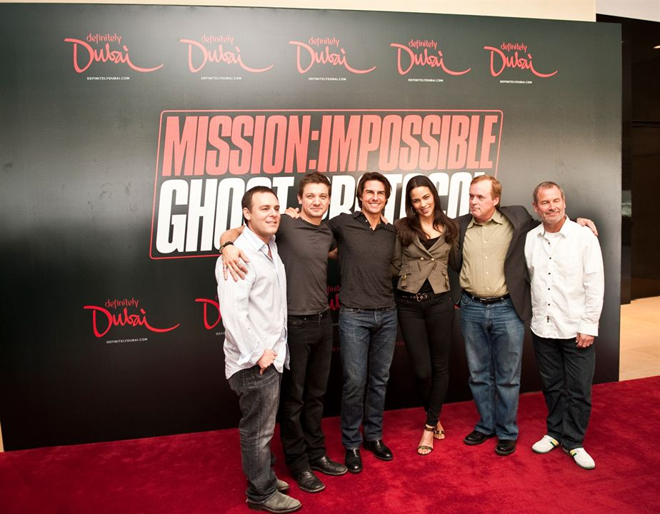 Mission : Impossible - Protocole fantôme : Photo Brad Bird