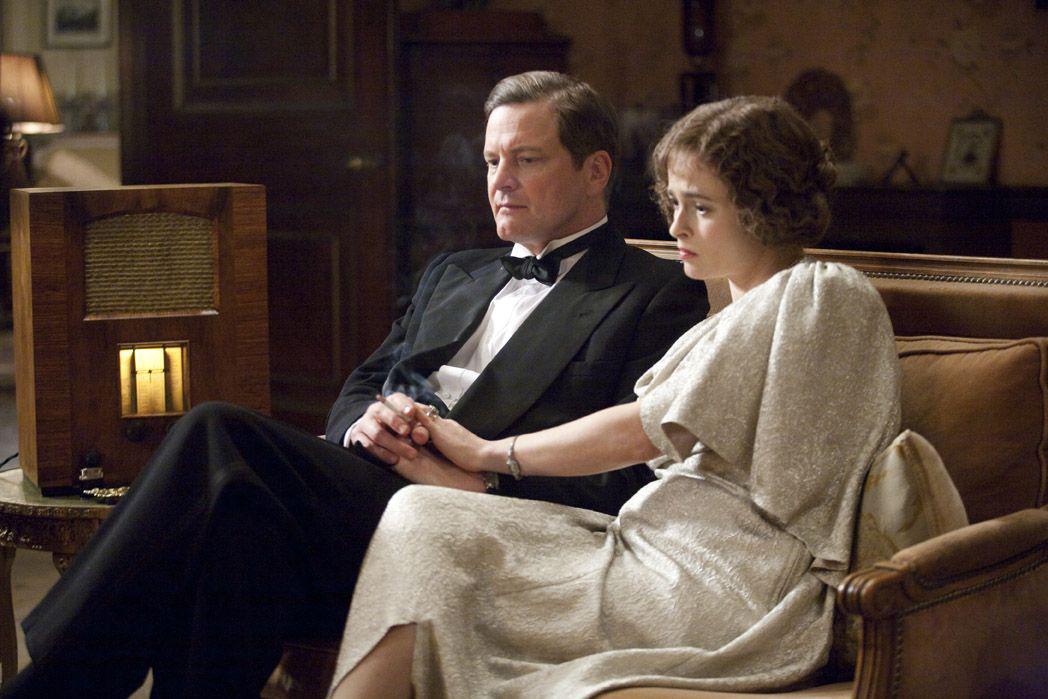 Le Discours d'un roi : Photo Colin Firth, Helena Bonham Carter
