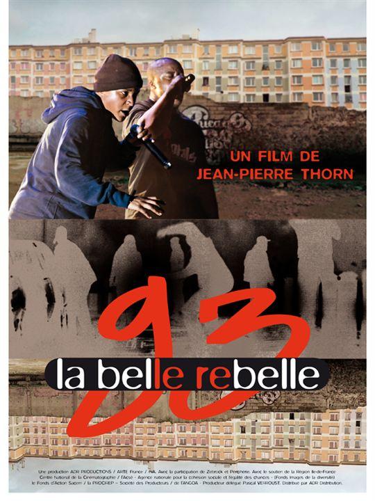 93 la belle rebelle : affiche