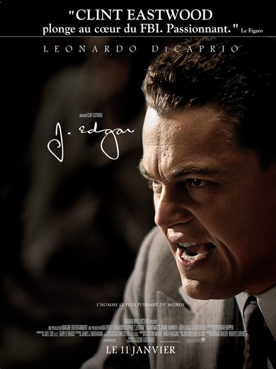 J. Edgar : Affiche
