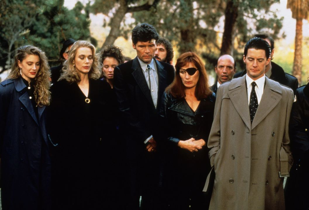 Twin Peaks - The Return (Mystères à Twin Peaks) : Photo Everett McGill, Kyle MacLachlan, Mädchen Amick, Peggy Lipton, Wendy Robie