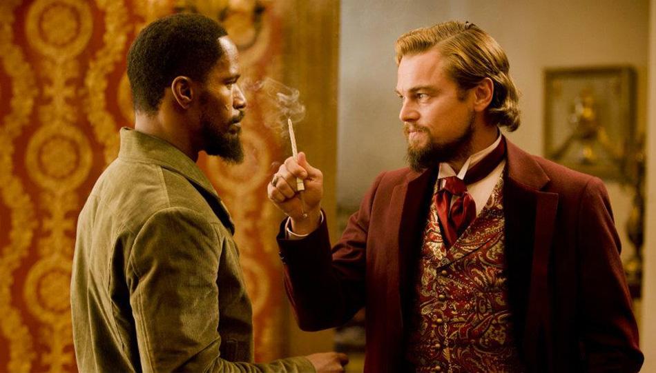 Django Unchained : Photo Jamie Foxx, Leonardo DiCaprio
