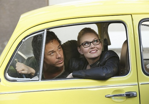 Photo Jennifer Morrison, Michael Raymond-James