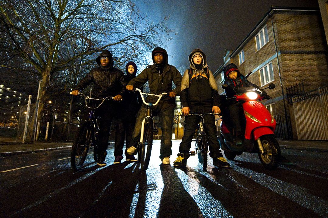 Attack The Block : Photo Alex Esmail, Joe Cornish, John Boyega, Leeon Jones