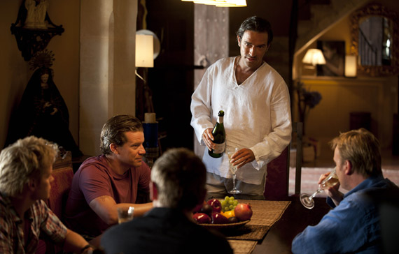 Photo Ben Chaplin, Marc Warren, Max Beesley, Philip Glenister