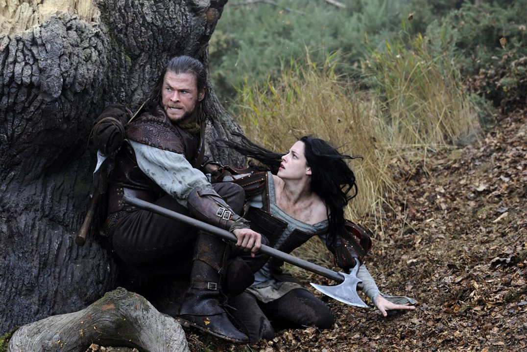 Blanche-Neige et le chasseur : photo Chris Hemsworth, Kristen Stewart